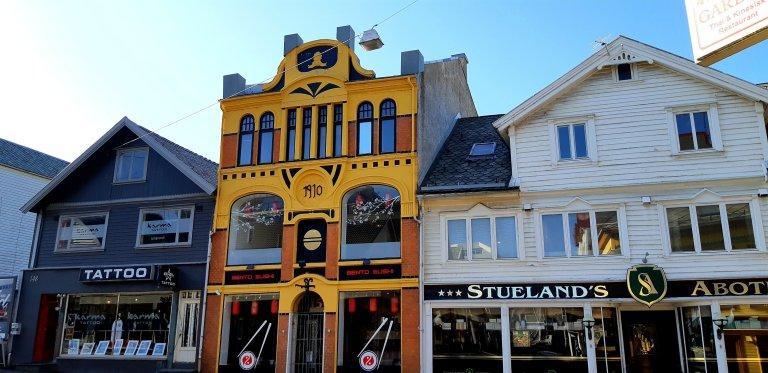 Haugesund old buildings