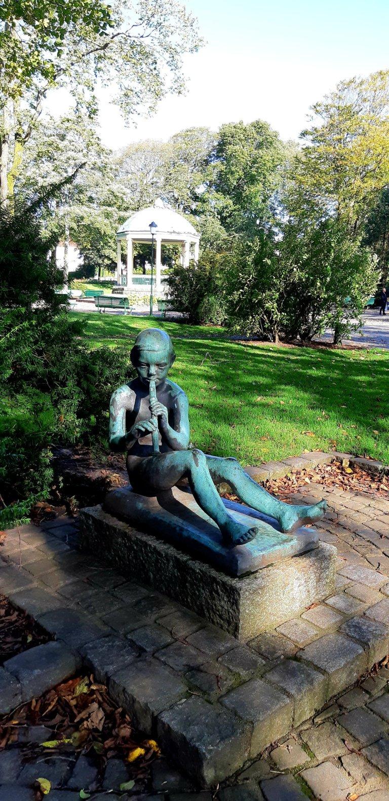 Haugesund statue