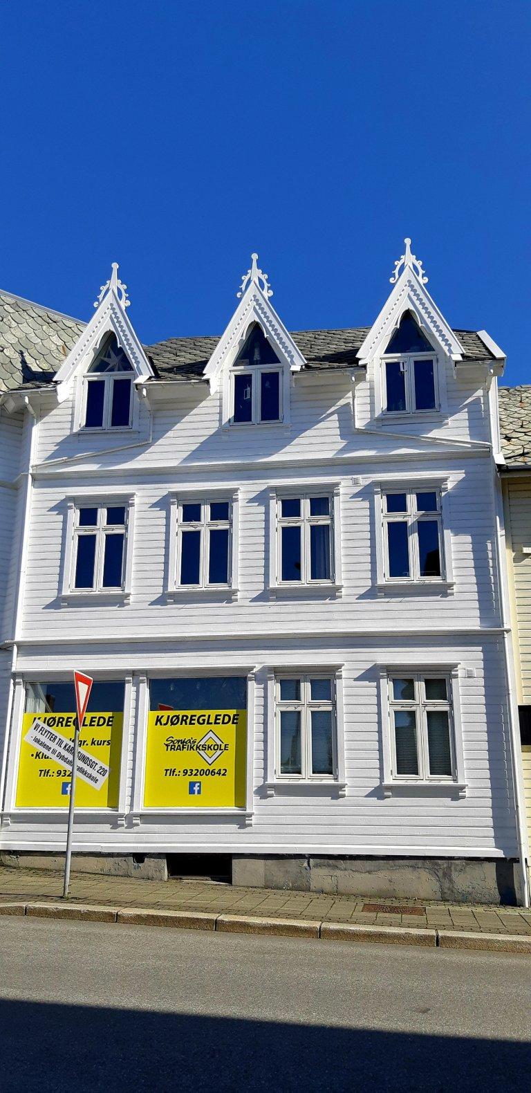 Haugesund old houses